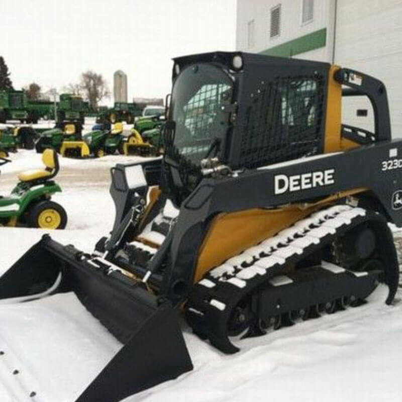 Commercial snow removal road salting 1